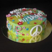 Торт для хиппи)