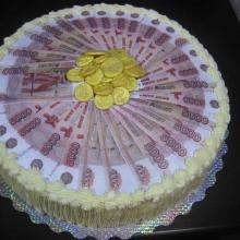 Денежный тортик