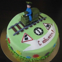Торт железнодорожнику №1