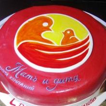 Торт для клиники