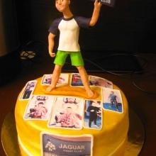 Торт для клуба единоборств
