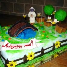 Торт Пасечнику. Авторский