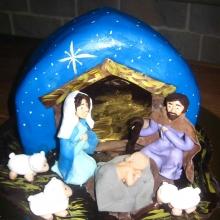 Торт на Рождество Авторский