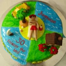 Торт Радости жизни