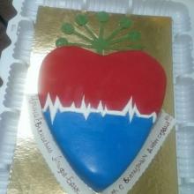 Торт кардиологу