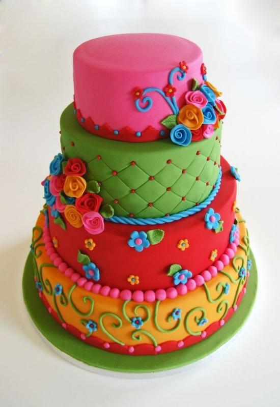 Картинки децких тортов