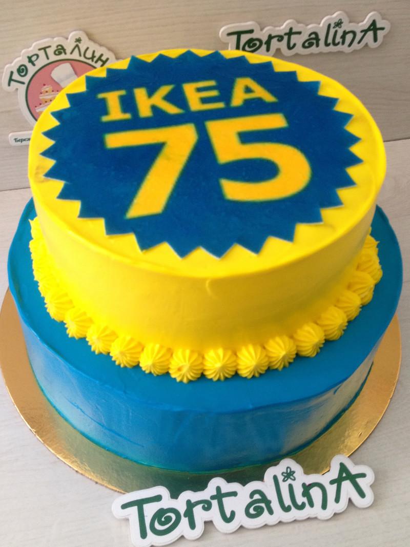 торт на корпоративное мероприятие IKEA