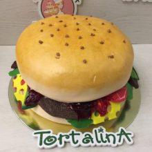 Торт Гамбургер. Авторский