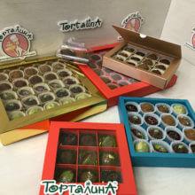 Шоколадные конфеты ручной работы наборы ассортимент