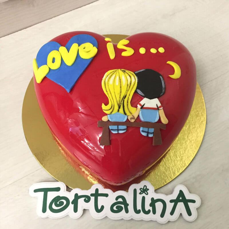 торт муссовый любовь это