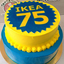 торт на мероприятие IKEA