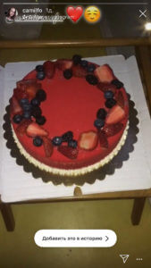 торт с ягодами отзыв 300319