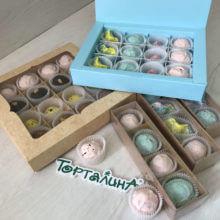 Шоколадные конфеты ручной работы наборы 4 и 12