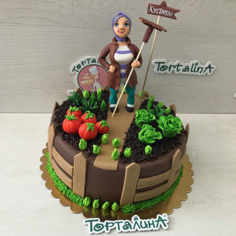 торт с огородной тематикой