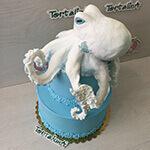 торт с осьминогом