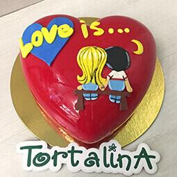 муссовый торт Love Is