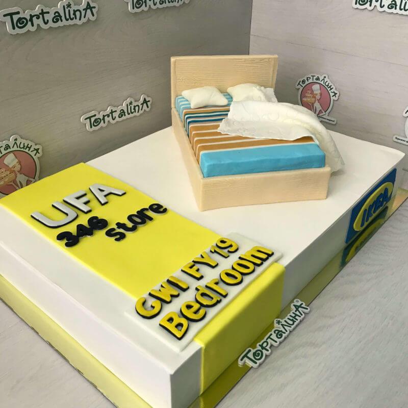 торт на корпоративное мероприятие магазина ikea