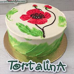 торт королевский мак торталина