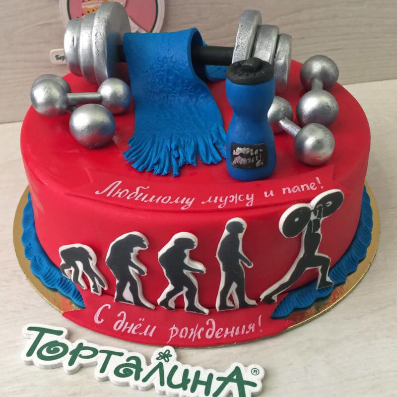 торт для тяжелоатлета