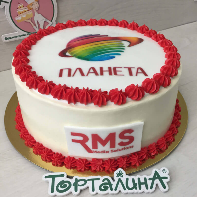 торт на день рождения ТРЦ Планета