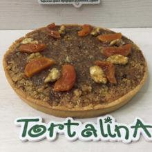 Пирог фирменный Торталина. Курага в шоколаде