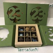 Набор шоколадных конфет на 23 февраля