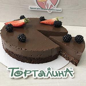 торт шоколадный постный правильное питание