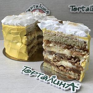 торт сицилийский лимон в разрезе