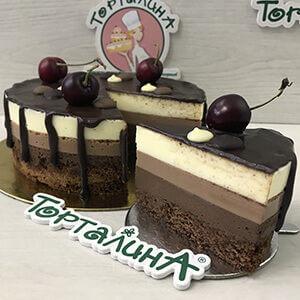 торт три шоколада от кондитерской Торталина
