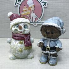 Шоколадная фигурка. Снеговик