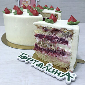 авторская начинка торта Лапландия кондитерской Торталина