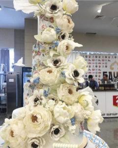 свадебный торт победитель выставки Gastro Master 2021