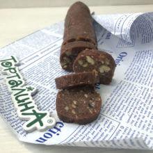 Шоколадная колбаса)